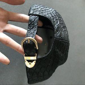 ec941c003 Hardware LDN x Hater black snakeskin strapback hat